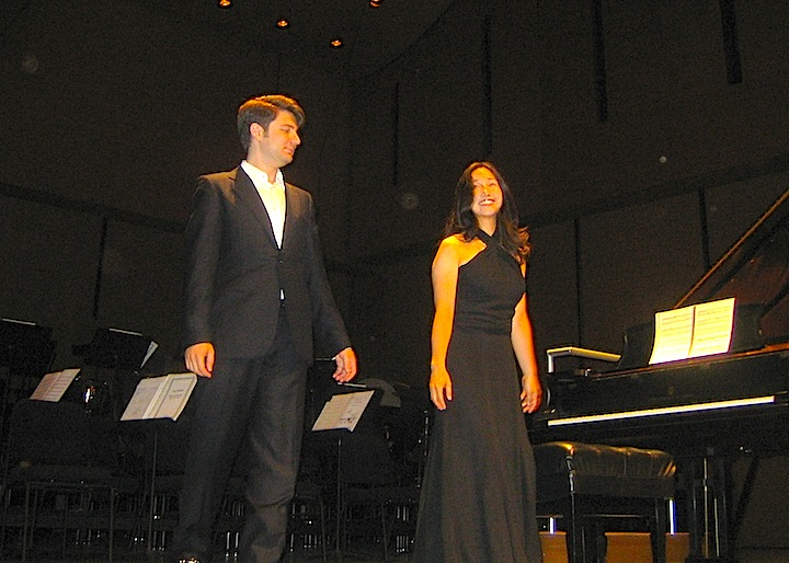 Alessio Bax and Lucille Chung open the Women's Musical Club of Toronto Season on Thursday afternoon.