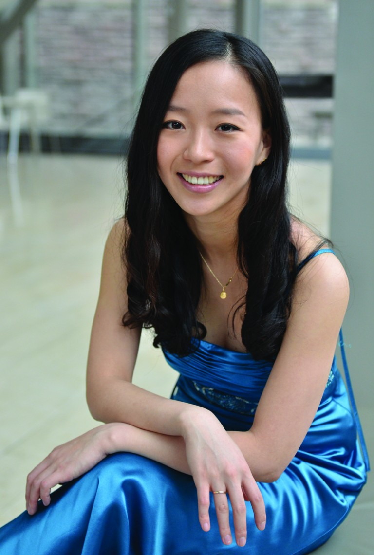 Violinist Luri Lee is one of seven newly minted Rebanks Family Fellows at the Royal Cosnervatory of Music's Glenn Gould Professional School. She performs at Koerner Hall with the Conservatory orchestra on Friday night.