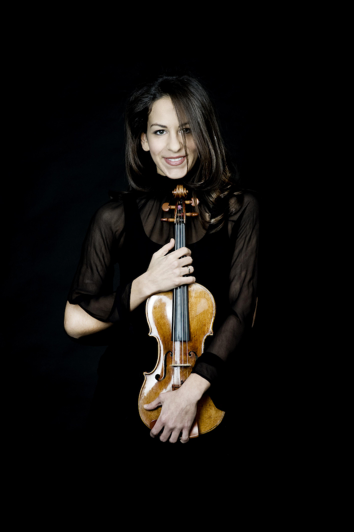 Violinist Andréa Tyniec goes solo at Musideum Monday night.