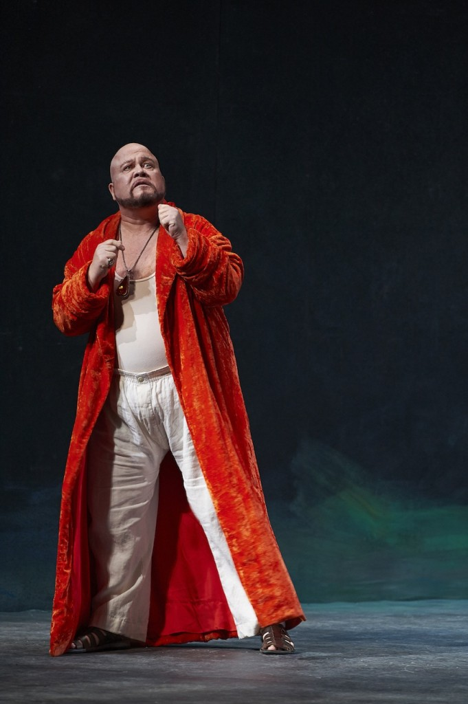 Tenor Richard Margison (seen here as Herod in the Canadian Opera Company's recent production of Salome) brings operatic punch to Westben on Saturday (Michael Cooper photo).