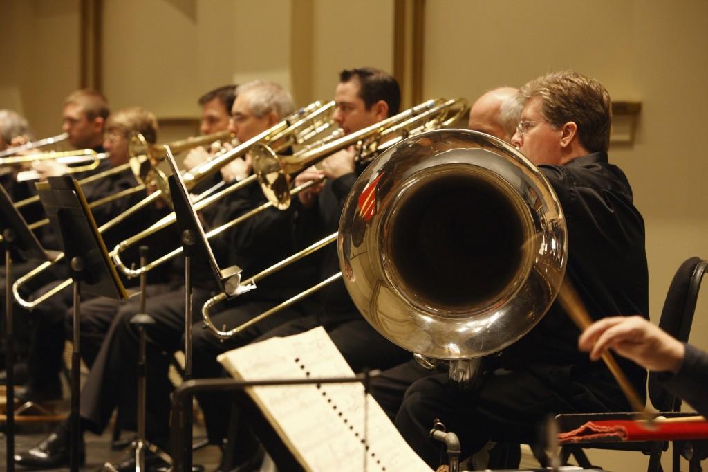 St. Louis Symphony Brass Section (photo by. Scott Ferguson)