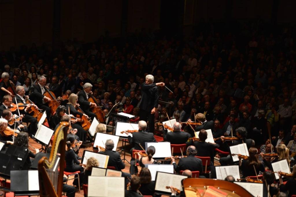 "Performing Rachmaninoff ""Symphonic Dances"" at Het Concertgebouw Amsterdam. August, 2014 TSO European Tour."