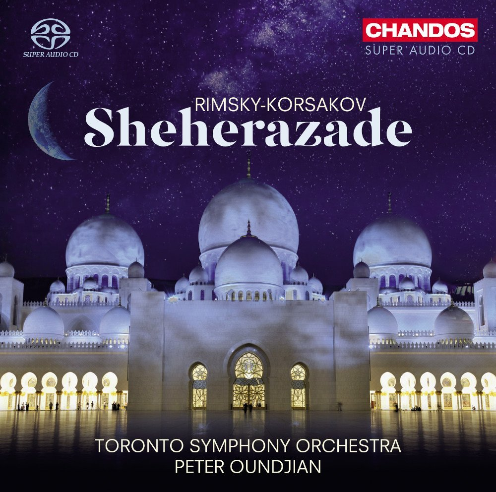 Chandos releases the TSO's Sheherazade in August 2014.