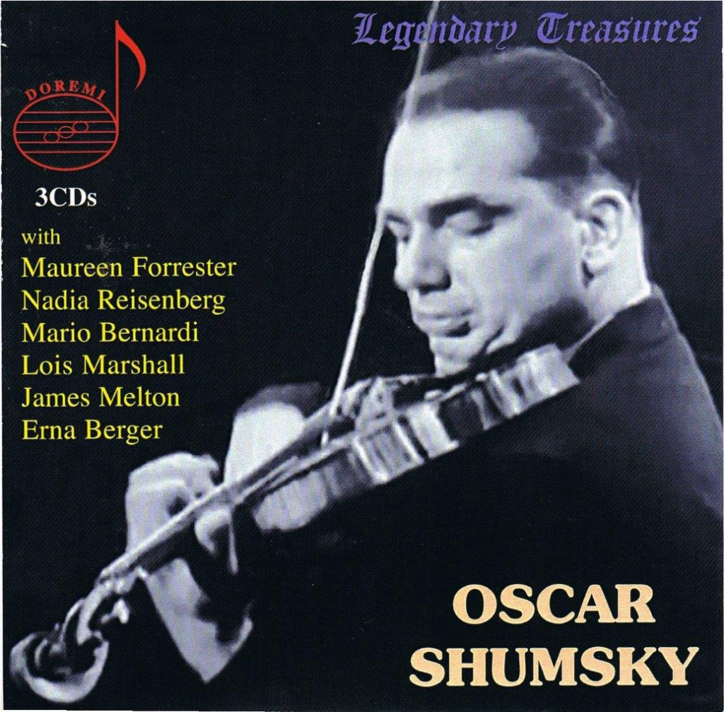 Oscar Shumsky - Legendary Treasures