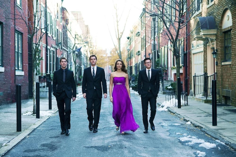 Dover Quartet Photo: Lisa-Marie Mazzucco