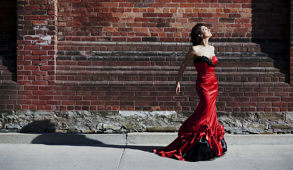 Soprano, Isabel Bayrakdarian. Photo: Bo Huang