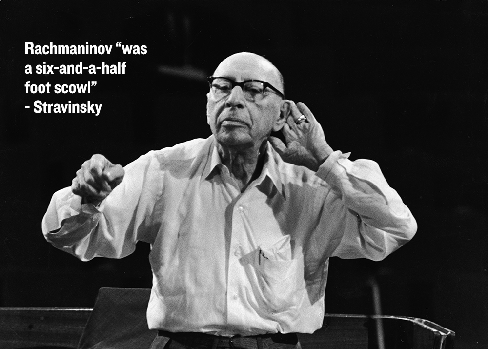 Igor Stravinsky Conducting