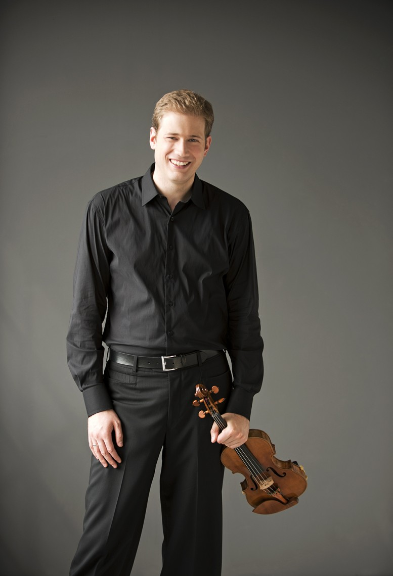 TSO Concertmaster Jonathan Crow. Photo: Sian Richards