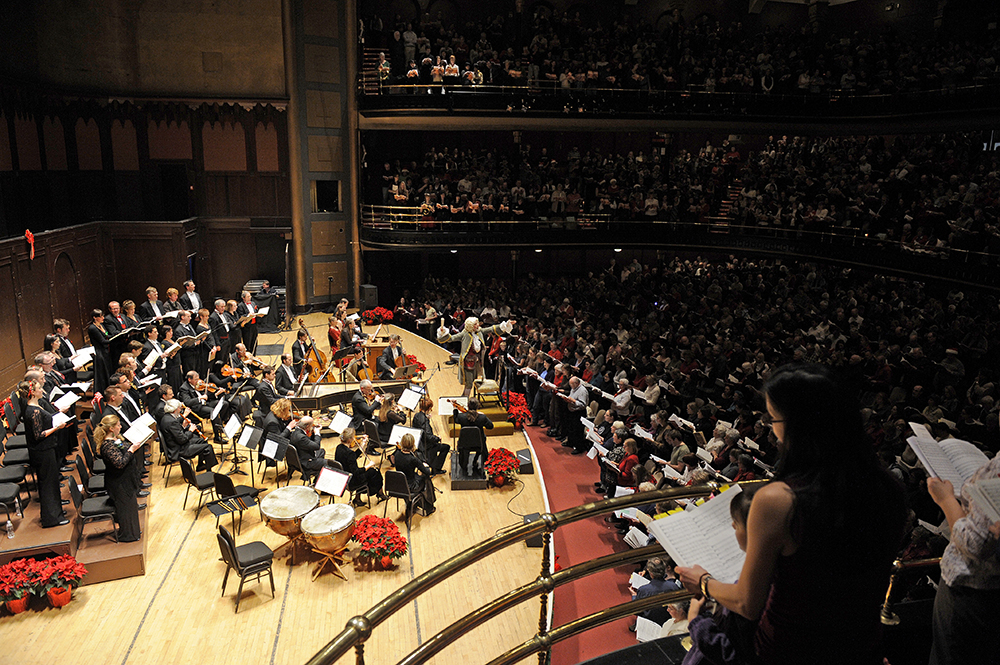 Sing-Along Messiah at Massey Hall Photo: Gary Beechey