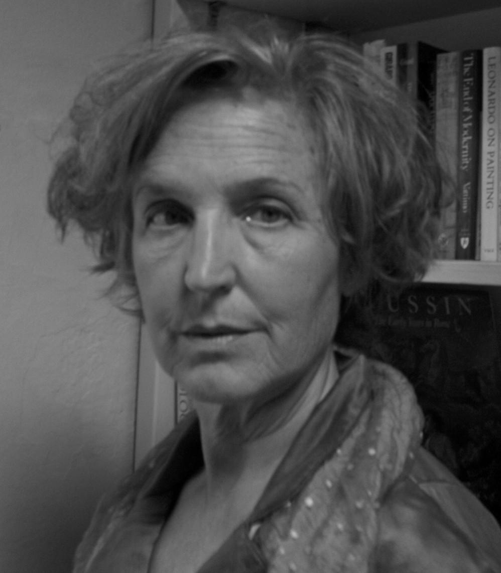 Composer Barbara Monk Feldman photographed by Jane Shoenfeld