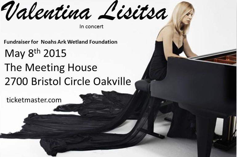 May 8th, 2015 Valentina Lisitsa Oakville concert Flyer
