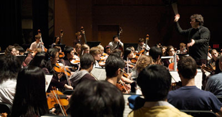 Toronto Symphony Youth Orchestra in rehearsal Photo: TSO