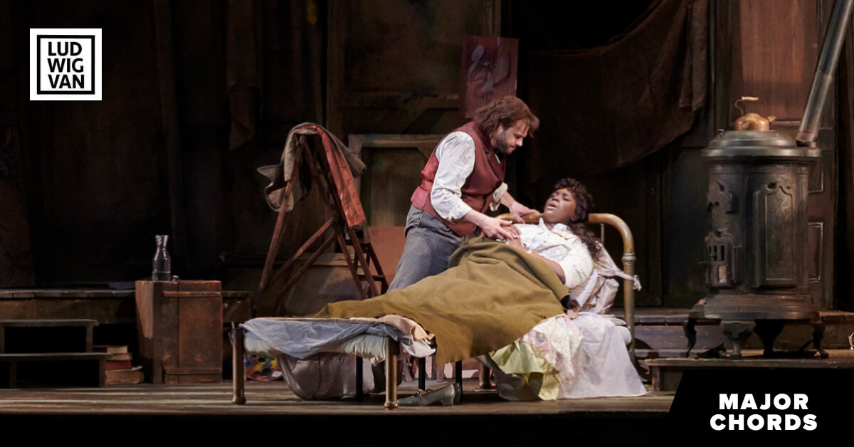 A scene from the Canadian Opera Company's production of La Bohème, 2019. (Photo: Michael Cooper)