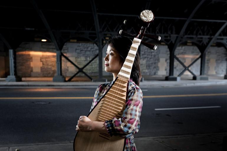Wu Man Photo: Chad Batka