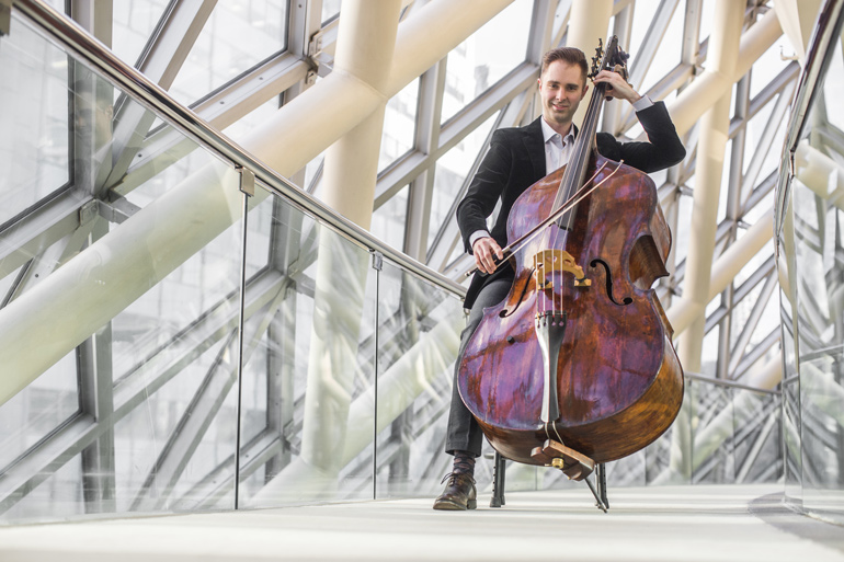 Jeffrey Beecher, TSO Principal Double Bass, and member of The Silk Road Ensemble.