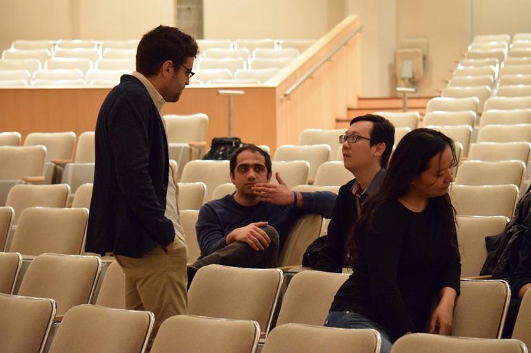 TSO Reading Session, 2015 (Photo: Courtesy TSO)