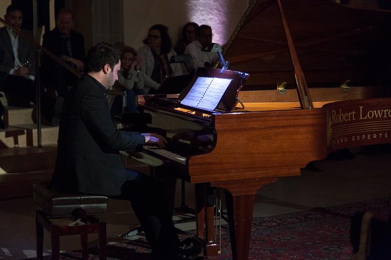 Pianist Adam Sherkin Photo: AGO
