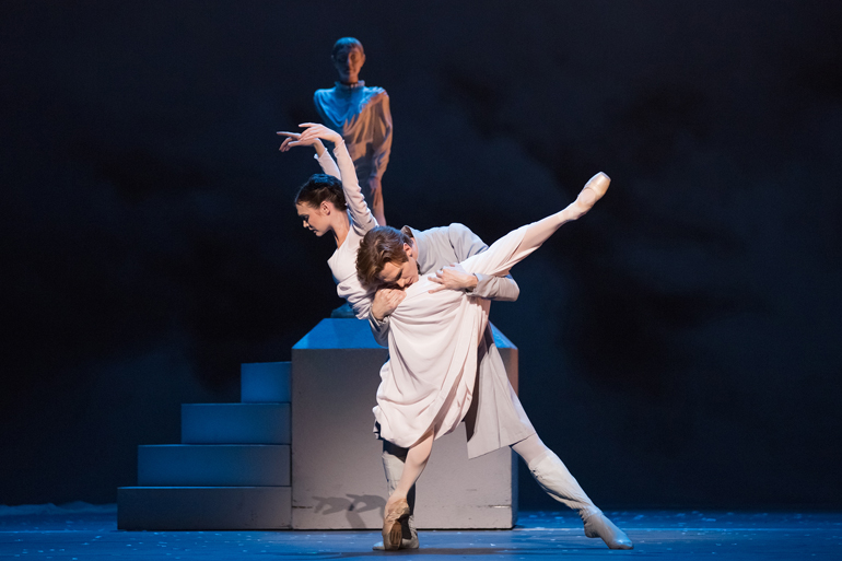 urgita Dronina and Evan McKie in The Winter's Tale. Photo by Karolina Kuras (courtesy of The National Ballet of Canada).