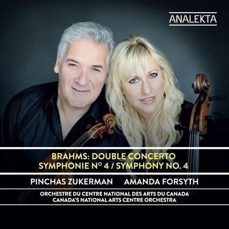 Brahms: Concerto for Violin, Cello and Orchestra; National Arts Centre Orchestra/Pinchas Zukerman
