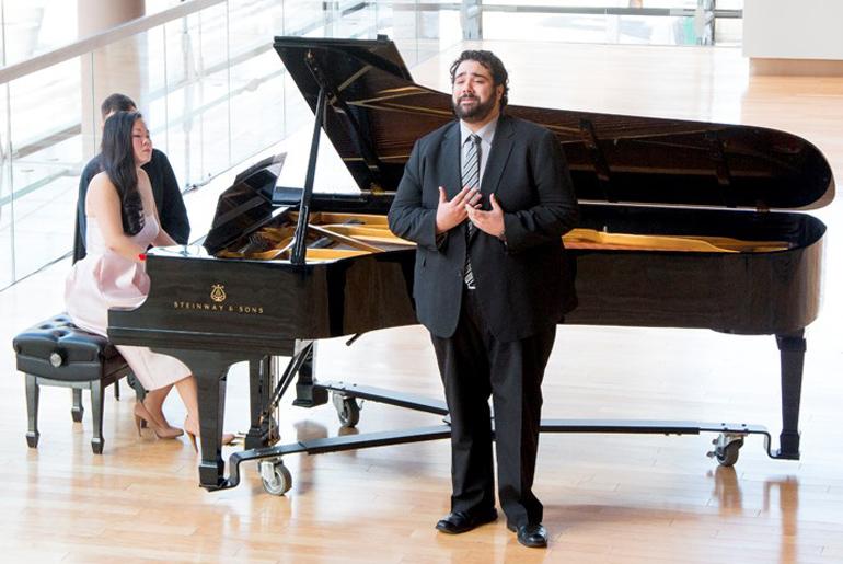 Andrew Haji, tenor