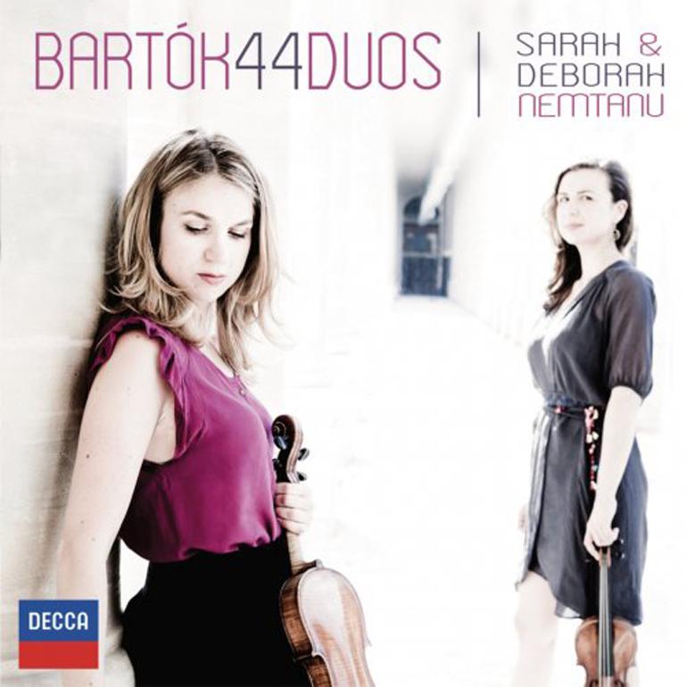 Sarah and Deborah Nemtanu - Bartók