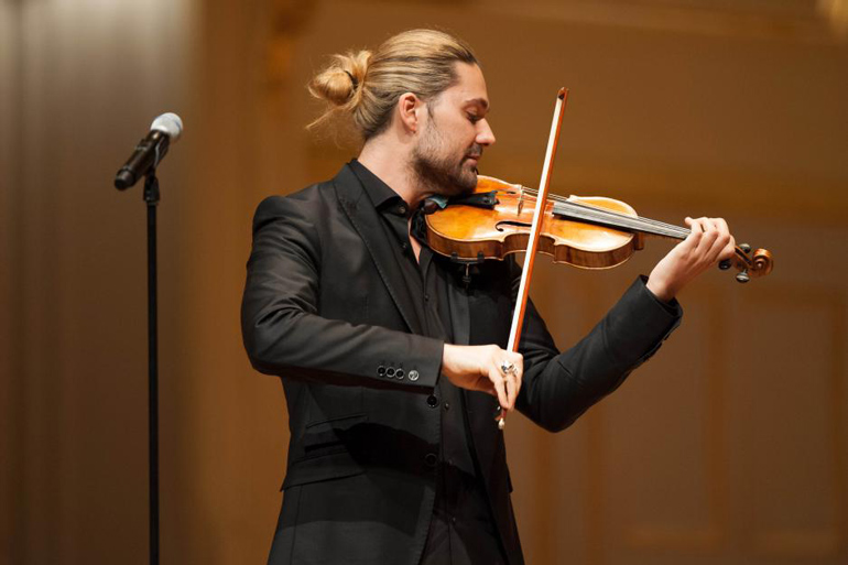 Welcome David Garrett Has Joined The Growing Musical Toronto Community