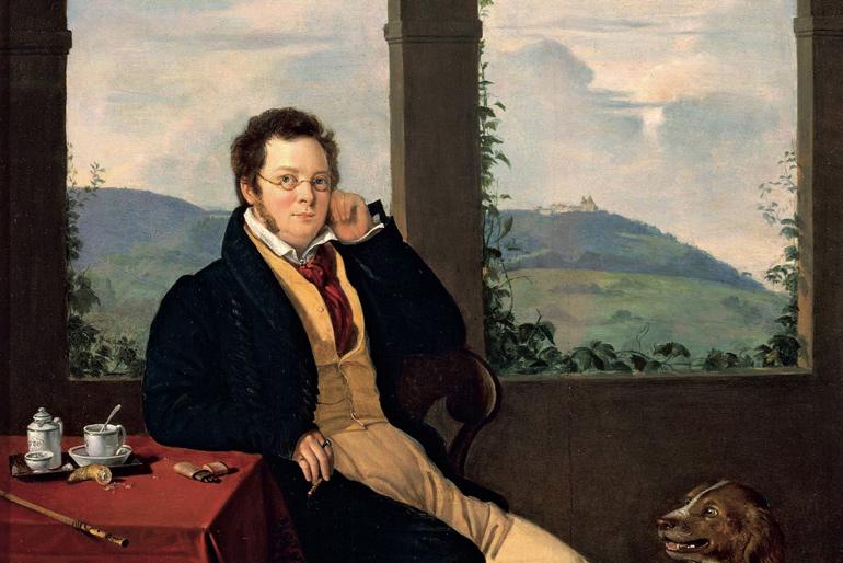 Franz Schubert (Painting: Melegh Gabor)
