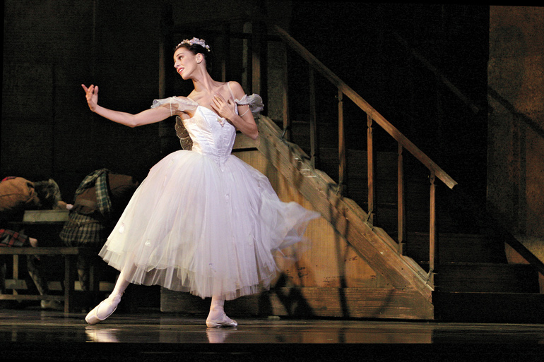 Sonia Rodriguez in La Sylphide. Photo by Cylla von Tiedemann, courtesy of The National ballet of Canada.