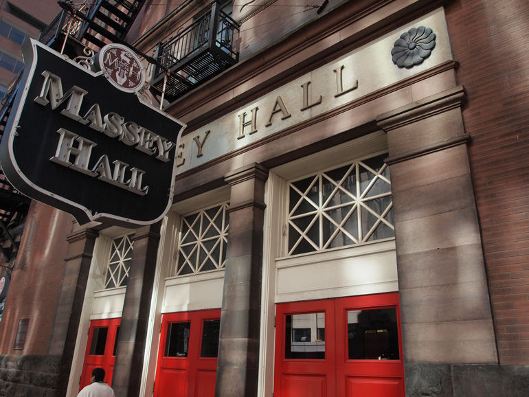 Massey Hall, exterior