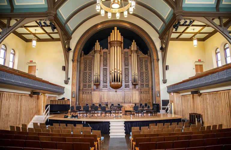 Trinity-St. Paul's Centre, Jeanne Lamon Hall. Home of Tafelmusik Baroque Orchestra and Chamber Choir.