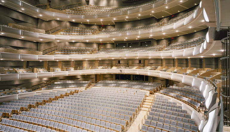 The Four Seasons Centre for the Performing Arts (R. Fraser Elliott Hall) (Photo via the COC)