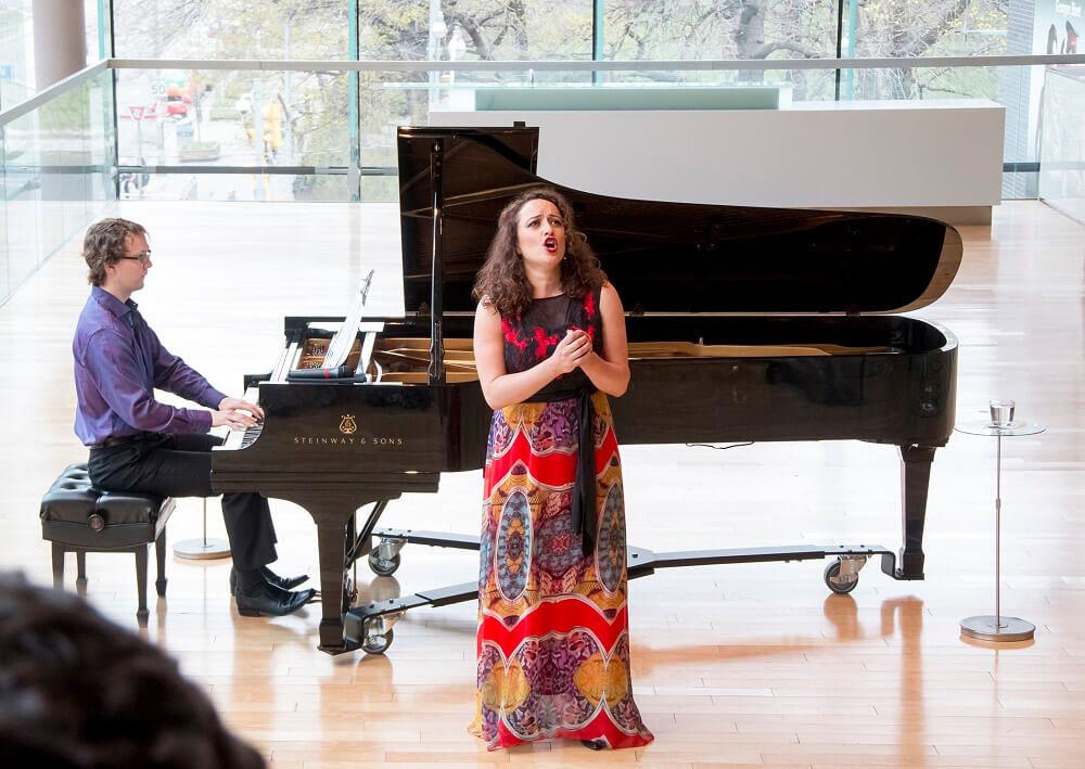 Clémentine Margaine, mezzo; Stephen Hargreaves, piano (Photo: Lara Hintelmann)
