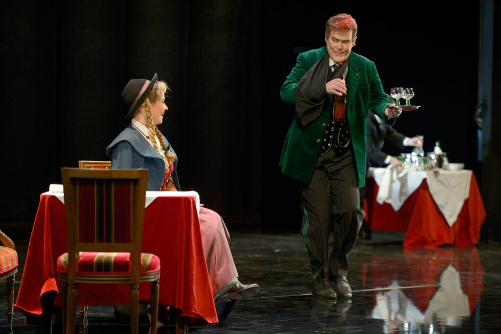 Der Rosenkavalier Ochs (Albert Pesendorfer) (Photo: Bettina Stöss)