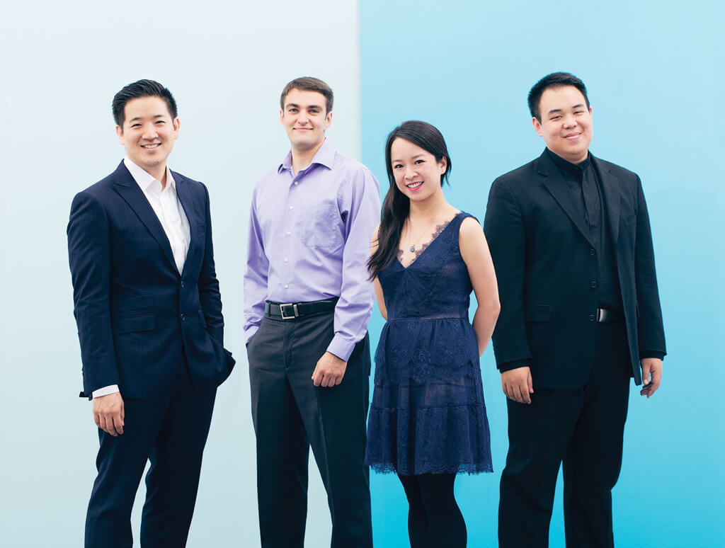 Afiara Quartet: Adrian Fung, Cello; Timothy Kantor, Violin; Valerie Li, Violin; Eric Wong, Viola.