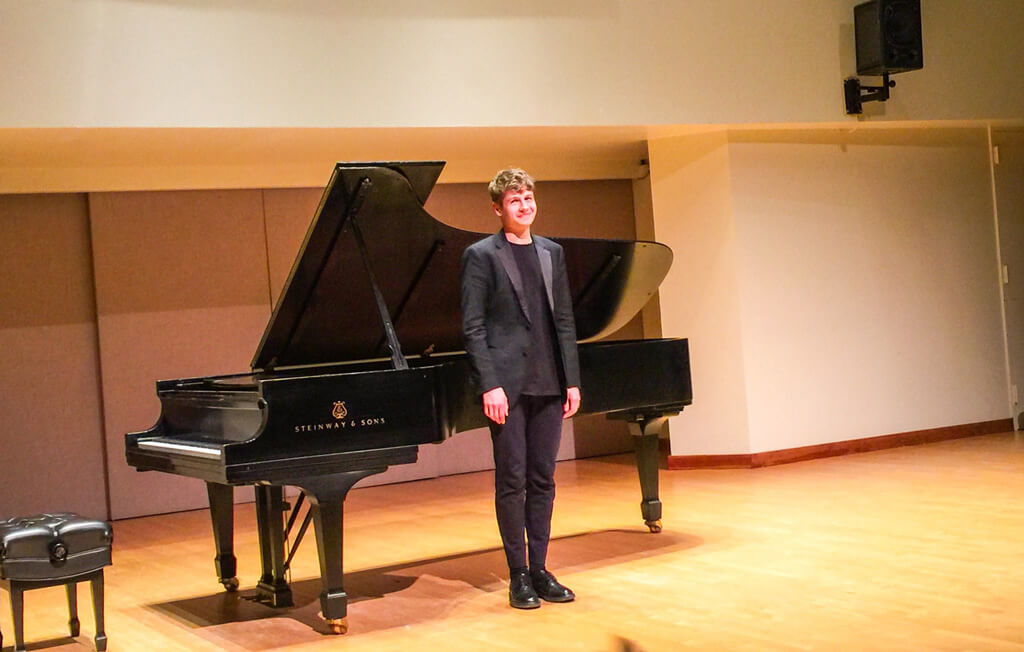 Honens Laureate Pavel Kolesnikov impresses with a surfeit of musicality and poetic imagination at Walter Hall. (Photo: Joseph So)