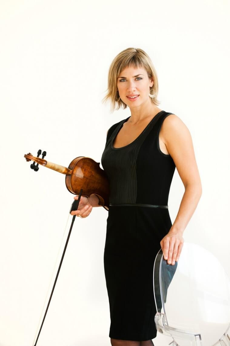 Cristina Zacharias, Violin (Photo: Sian Richards