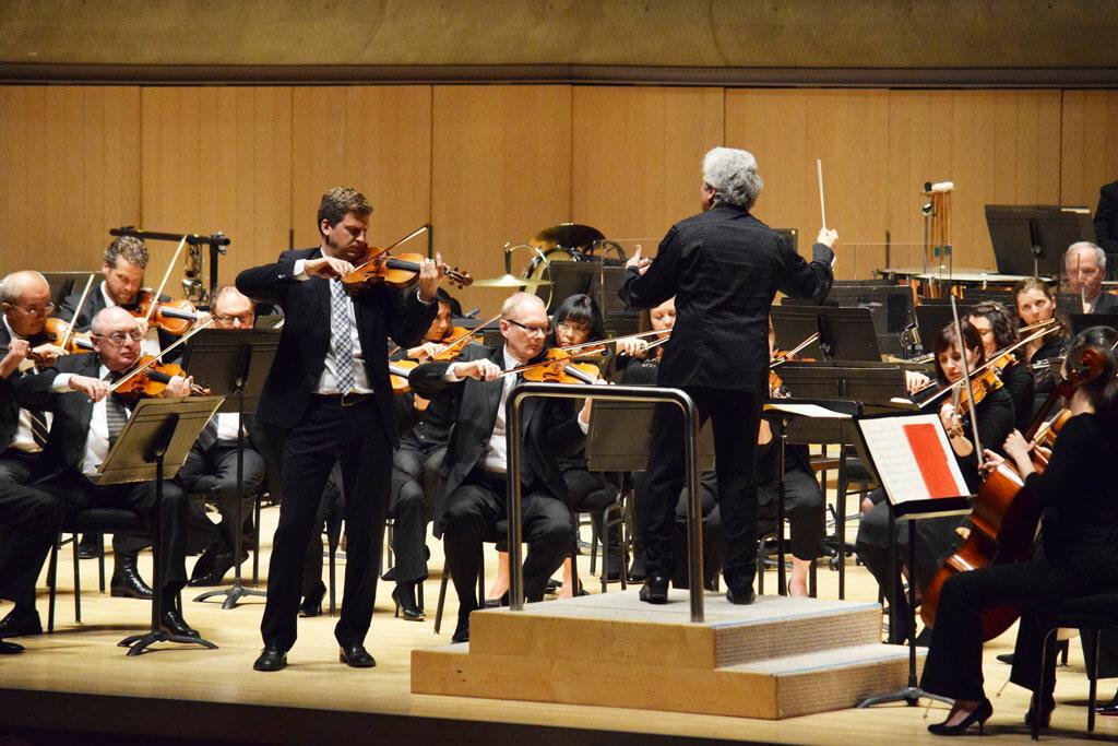 TSO: James Ehnes, Peter Oundjian (Photo: Emma-Badame)