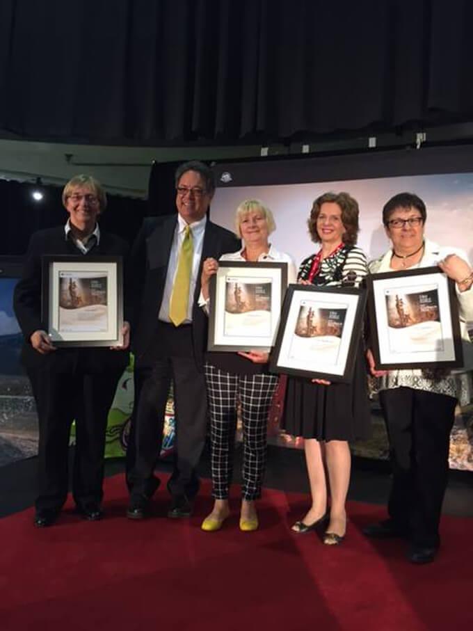 Bells of Baddeck receives Parks Canada Award 2016.