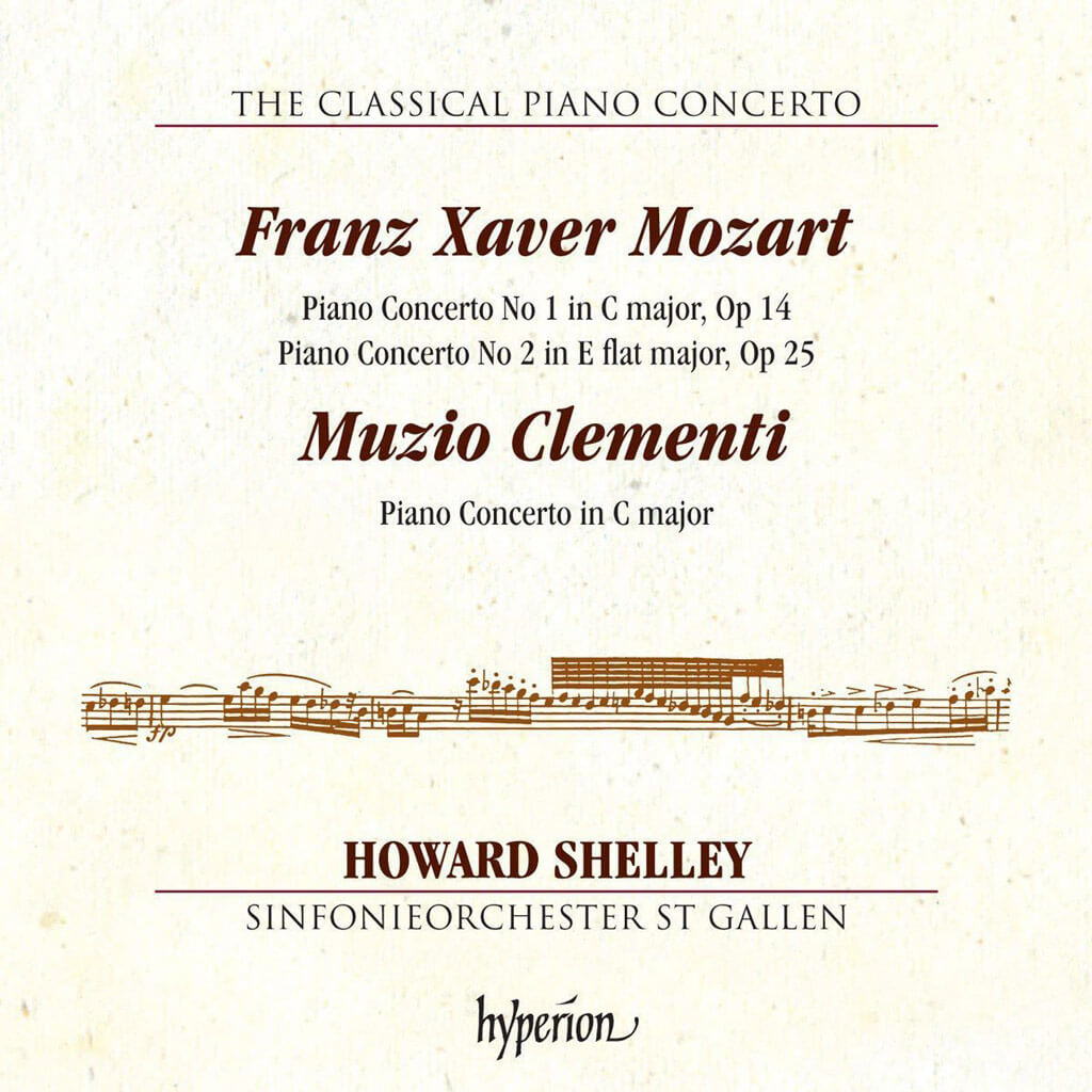 Mozart/Clementi:Piano Concertos [Howard Shelly; Sinfonieorchester St Gallen] [HYPERION: CDA68126]