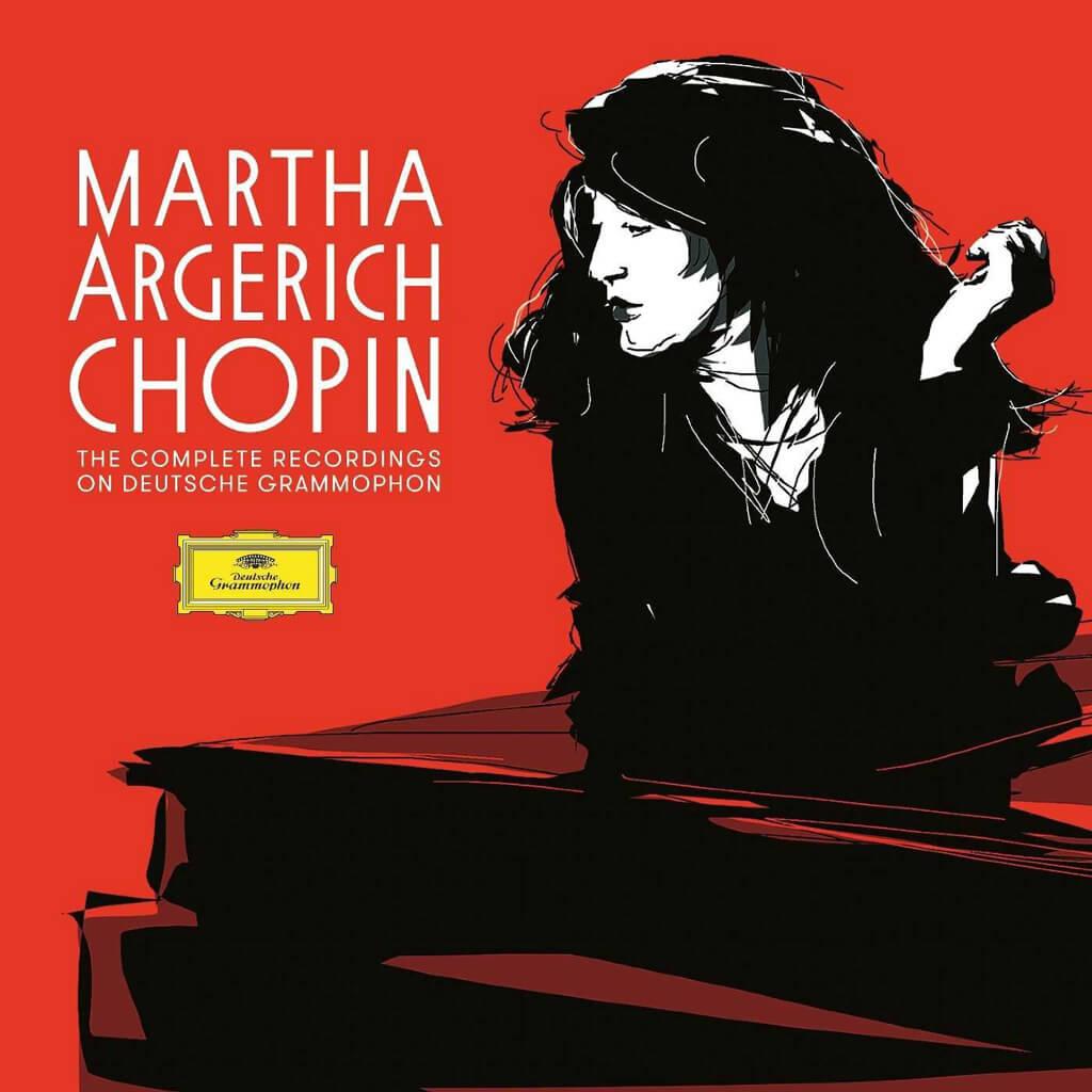 Martha Argerich. Chopin: the Complete Recordings on Deutsche Grammophon. Mstislav Rostropovich. Mischa Maisky. London Symphony Orchestra/Abbado. National Symphony Orchestra/Rostropovich. DG 479 6068 (5 CDs). Total Time: 73:02 + 78:32+76:40 + 68:35 + 73:02.
