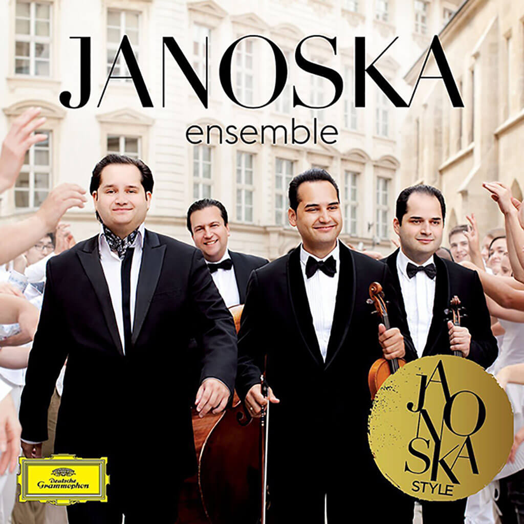 Janoska Ensemble. Music by Johann Strauss, Waxman, Kreisler, Paganini and members of the ensemble. Deutsche Grammophon 481 2524. Total Time: 64:06.