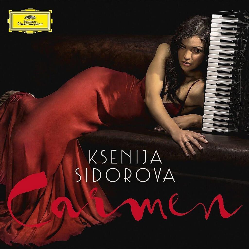 Carmen. Ksenija Sidorova, accordion. Boruson Istanbul Philharmonic Orchestra. Nueo Mondo. Deutsche Grammophon 479 5224. Total Time: 52:36.