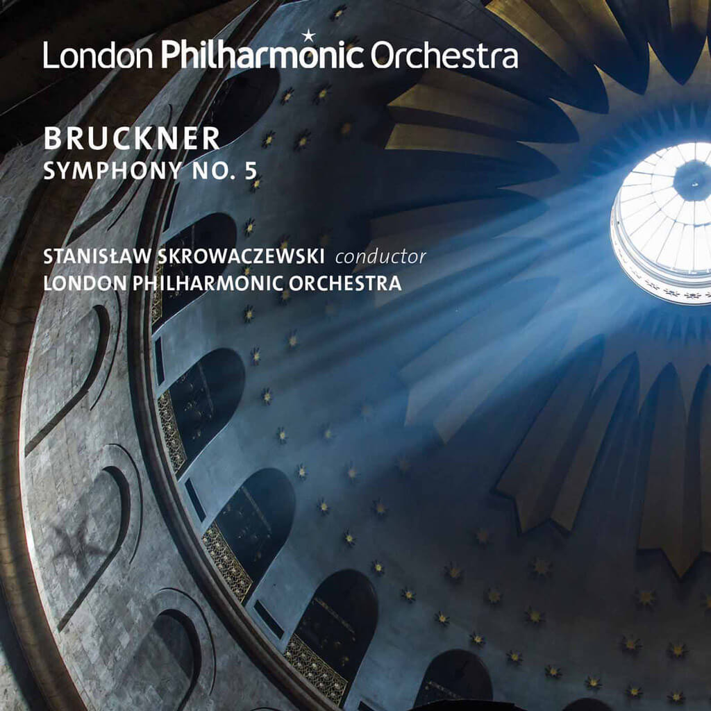 Bruckner: Symphony No. 5 in B flat major (Nowak Edition). London Philharmonic Orchestra/Stanislaw Skrowaczewski. Recorded live in the Royal Festival Hall, October 31, 2015. LPO-0090. Total Time: 78:51.