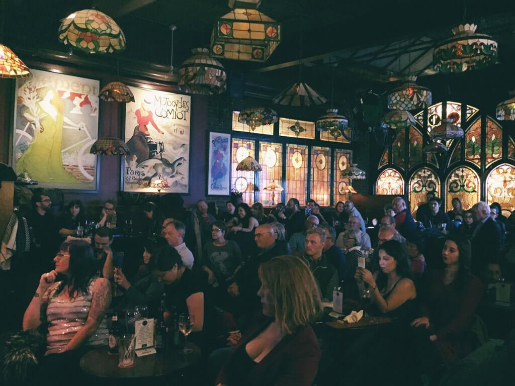 Against the Grain Opera Pub at Amsterdam Bicycle Club (Photo: Amanda Hadi)
