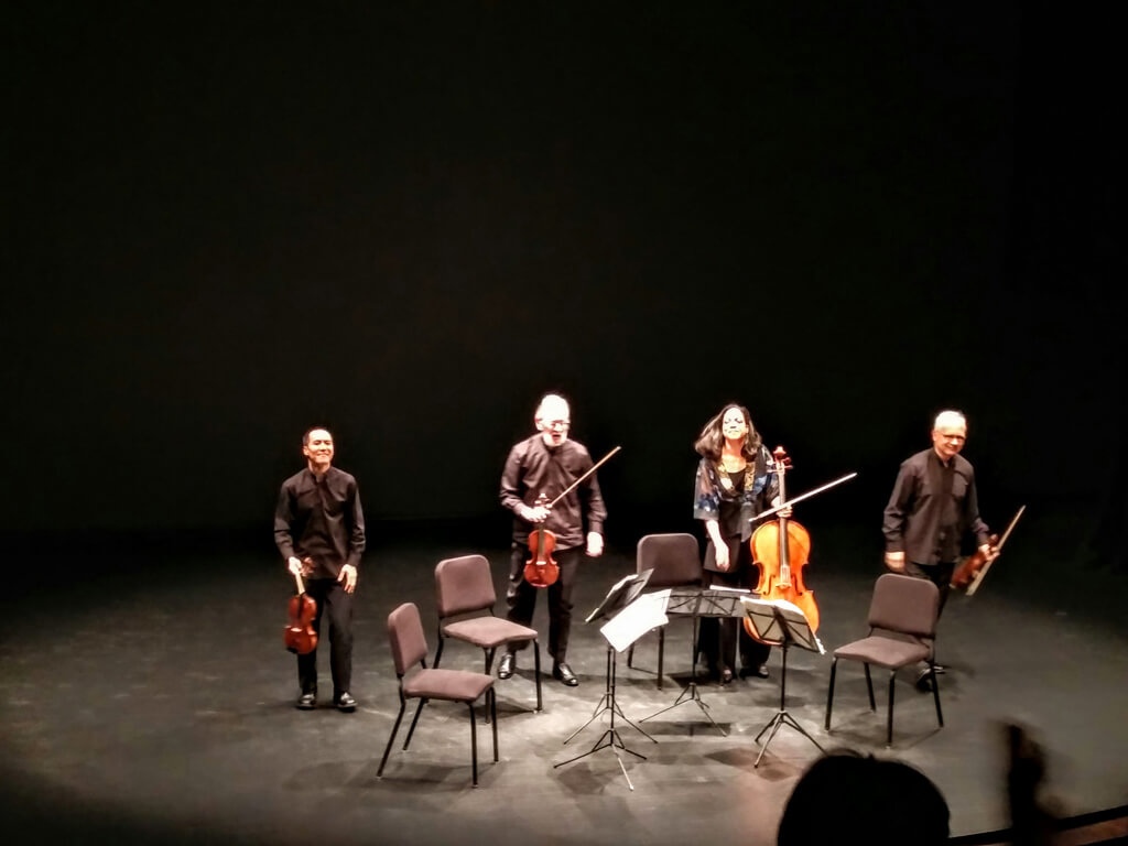 Juilliard Quartet at Jane Mallett Theatre (Photo: John Terauds)