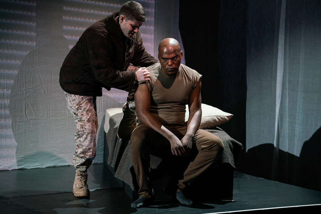 """Fallujah"" an authentic, brutal exploration of the tragic complexities of war.(Photo: Sarah Shatz/New York City Opera)"