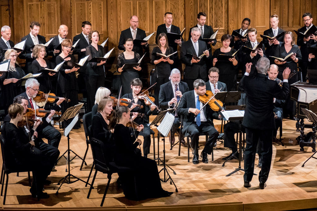 Tafelmusik Chamber Choir | 35th Anniversary concert Nov. 2. (Photo: John Terauds)
