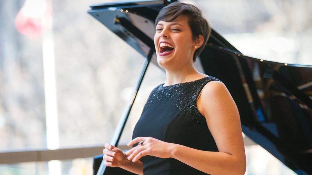 Mezzo-soprano Emily d'Angelo (Photo: Dragonfly Imagry)