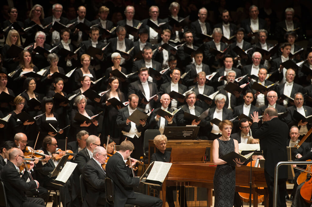 Isaiah Bell, Toronto Mendelssohn Choir, Nicholas McGegan, TSO (Photo: Jag Gundu)