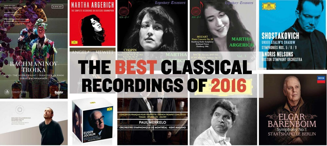 As 2016 comes to a close, we look back at some of our favourite classical music releases of the year.